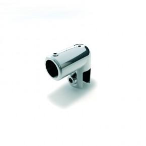 Stabilisationsstange Ø16mm Glashalter 6-10mm komplett MS mattverchromt