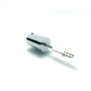 Stabilisationsstange Ø16mm Wandhalter 90° starr komplett MS glanzverchromt