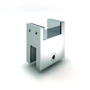 Stabilisationsstange 15x30mm Glashalter quer zu 8474/5/7MS MS glanzverchromt