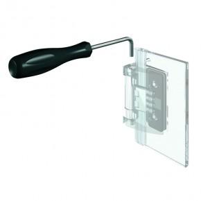 Inbusschlüssel abgewinkelt 4mm Pillango ST verzinkt