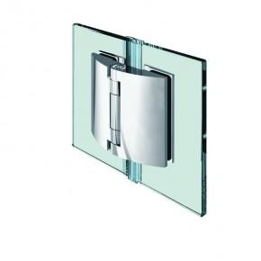Pillango Glas-Glas 180° 4Federn ZN Edelstahleffekt