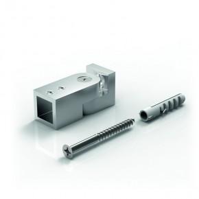 Stabilisationsstange 15x15mm Wandhalter 90° verstellbar ±90° komplett MSgchr
