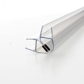 Magnet Dichtprofil 90° (2x45°) 10/12mm L=2.500mm KU transparent