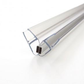 Magnet Dichtprofil 90° (2x45°) 6/8mm L=2.010mm KU transparent