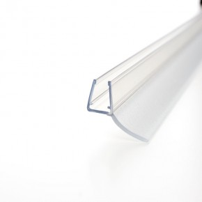 Dichtprofil Streif 180° überlappend 6/8mm L=2.010mm KU transparent