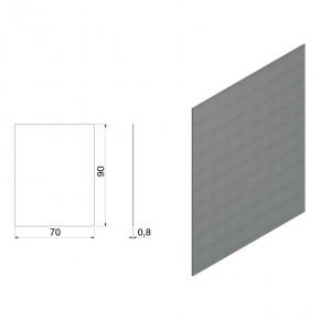 Unterlage Lasche-Glas 90x70x0,8mm Hartzell