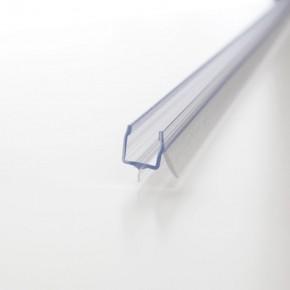 Wasserabweisprofil Lippe kurz nur 8mm L=2.010mm KU transparent